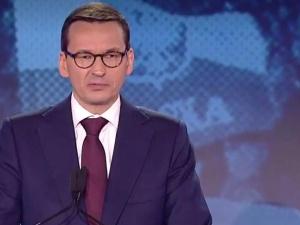 """Premier: """"Dziękuję Wam za dumę z Polski, za Wasz polski patriotyzm. To jest fundament zmiany"""""""