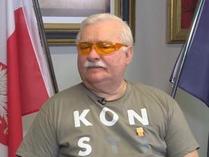 """Wałęsa twierdzi, że został napadnięty. """"Porwałem ulotkę PiS"""""""