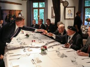 75. rocznica wyzwolenia Flandrii. Prezydent Duda spotkał się z żołnierzami gen. Stanisława Maczka