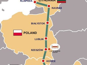 Wojewoda wydał pierwsze zezwolenie na Via Carpatia na Podkarpaciu. Jej elementem most przez San