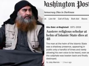 """Amerykanie oburzeni nagłówkiem Washington Post. Nazwano lidera ISIS... """"surowym religijnym przywódcą"""""""