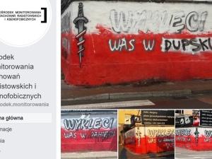 OMZRiK cały zadowolony ze zniszczenia białostockich murali ku czci Żołnierzy Wyklętych