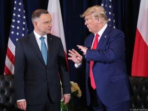 WP: Spotkanie Duda-Trump w grudniu w Londynie