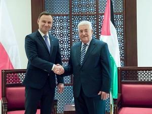 """Prezydent Andrzej Duda """"Pokój między Izraelem a Palestyną tylko dzięki porozumieniu stron"""""""