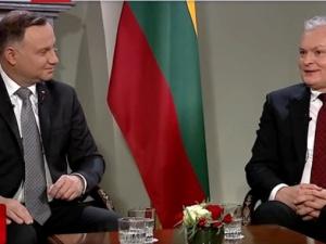 """""""[video] Prezydent Litwy: Mówi się, że nasze stosunki są tak dobre, że aż strach"""""""