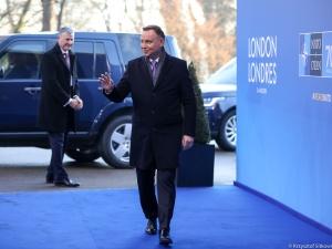 """""""Decyzja o przystąpieniu naszego kraju do Sojuszu była kluczowa"""". Spotkanie przywódców NATO w Londynie"""