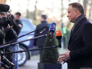 """[video] """"Wszystkie czarne przewidywanie okazały się nieprawdziwe"""". Prezydent po szczycie NATO"""