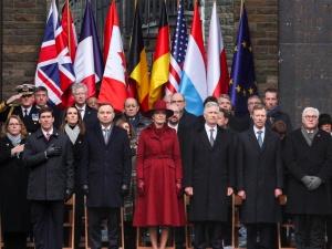 Prezydent Duda w Belgii. 75. rocznica rozpoczęcia Bitwy o Ardeny