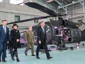 Wojska Specjalne otrzymały cztery nowoczesne śmigłowce Black Hawk