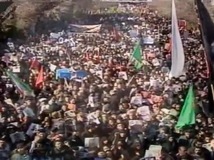 Kilkadziesiąt osób straciło życie w wyniku paniki na pogrzebie gen. Sulejmaniego