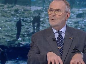 [video] ??? Ekspert w TVN24: Nie było leja - samolot rozpadł się w powietrzu. W Iranie. Nie w Smoleńsku