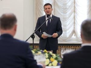 """""""Wzywamy partnerów międzynarodowych do przedstawienia dowodów"""". Prezydent Ukrainy zabrał głos ws. Boeinga"""