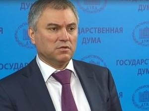 """Red. Wybranowski o przewodniczącym Dumy: """"Można by to skwitować, że p. Wiaczesław Wołodin jest idiotą"""""""
