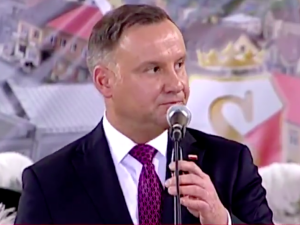 Płomienne wystąpienie Andrzeja Dudy. Są pierwsze komentarze internautów