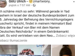 """W Niemczech od ręki wyprzedaje się piwo z nazistowskimi symbolami III Rzeszy. Starosta: """"Jest mi wstyd"""""""
