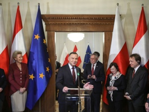 PAD podczas otwarcia konsulatu Austrii: Wierzę głęboko, że będą tu kreowane wydarzenia z różnych dziedzin