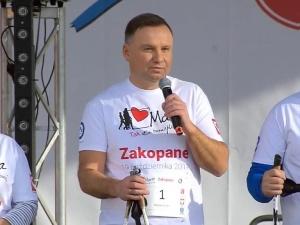 Koszulka wystawiona na WOŚP przez prezydenta Dudę, sprzedała się za... 200 tys. złotych