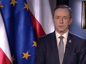 """Marszałek Grodzki: """"Tonie rząd zderzy się zeuropejskim prawem, tylko obywatele dostaną pouszach"""""""