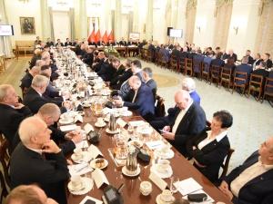 [FOTORELACJA] Posiedzenie Komisji Krajowej Solidarności w Pałacu Prezydenckim