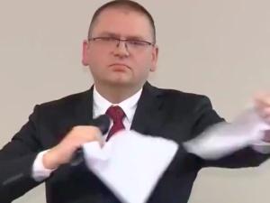 Olsztyńscy sędziowie złożyli zawiadomienie o popełnieniu przestępstwa przez Macieja Nawackiego