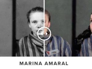 """Historia małoletniej polskiej ofiary """"KL Auschwitz"""" przypomniana przez znaną artystkę Marinę Amaral"""