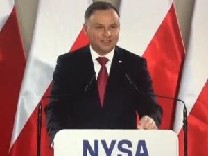 """Prezydent Duda w Nysie: """"Prawie 3 miliardy złotych będą przeznaczone na ochronę zdrowia"""""""