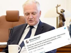 """""""Politycy Porozumienia wolą wróbla w garści, Gowin został z angielskim"""". Gorące komentarze po dymisji"""