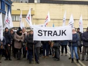 Trwa strajk w Odlewni Żeliwa w Zawierciu. Pracodawca nawet nie próbuje nawiązać dialogu z protestującymi