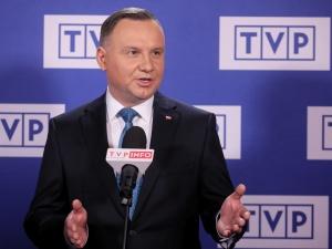 """""""Wiedziałem, że rozmowy trwają w trakcie debaty"""". Prezydent zapytany o spotkanie Kaczyńskiego z Gowinem"""