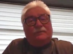 """[video] Wałęsa o Kaczyńskim: """"Albo kończy w zakładzie, takim dla psychicznych, albo popełnia samobójstwo"""""""