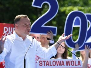 Mocne wystąpienie Andrzeja Dudy w Stalowej Woli. Internauci komentują