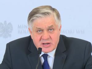 Minister Rolnictwa: 100 mln zł rekompensat dla polskich rolników