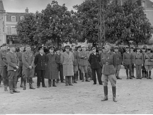 Losy polskich żołnierzy wycofujących się z Francji do Szwajcarii podczas II WŚ