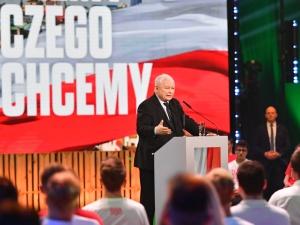 Szef PiS: Andrzej Duda jest dzisiaj w USA i walczy o polską wolność