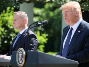 Trump: liczę, że mój przyjaciel prezydent Duda odniesie sukces w wyborach