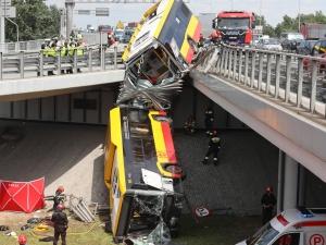 """""""Był silnie naćpany"""". Szokujące ustalenia ws. kierowcy autobusu, który spowodował wypadek w Warszawie"""
