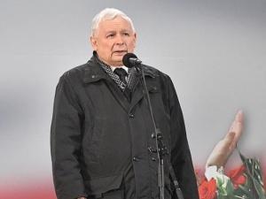 Prezes PiS Jarosław Kaczyński spędził wieczór wyborczy na Jasnej Górze