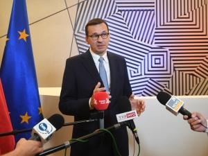 """""""Polska przeciw uzależnieniu płatności od celów klimatycznych"""". Ważne słowa Morawieckiego w Brukseli"""