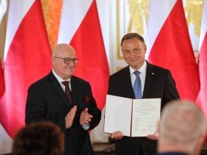 Andrzej Duda odebrał uchwałę PKW o wyborze na prezydenta RP