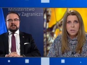 [video] Wiceminister Jabłoński założył się z Kolendą-Zaleską o 10 tys. złotych o... praworządność