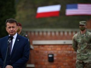 [video] Min. Błaszczak: Ta umowa kształtuje relacje polsko-amerykańskie, na dziesięciolecia mówi...