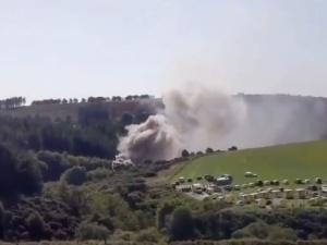Brytyjskie media: co najmniej jedna osoba zginęła w wypadku pociągu w Szkocji