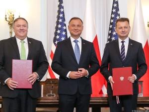"""Prezydent Andrzej Duda: """"Podpisanie umowy wojskowej z USA przenosi nas w kolejny etap współpracy"""""""