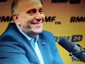 """Mazurek do Schetyny: """"Musiał pan odetchnąć z ulgą jak wybrano Tuska. Grzegorz Schetyna sie uśmiecha"""""""