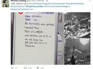 Angielska reakcja na atak w Londynie. Keep Calm czy czarny humor?