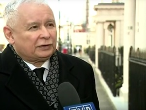 [video] Jarosław Kaczyński po rozmowie z premier Wielkiej Brytanii Theresą May: Wyjeżdżam zadowolony