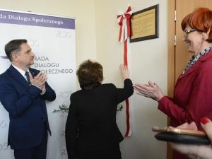 Longin Komołowski patronem Sali obrad Rady Dialogu Społecznego