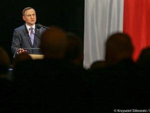 """Prezydent Andrzej Duda: """"Walka z terroryzmem wymaga współdziałania na szeregu płaszczyzn"""""""