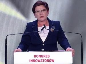 [video] Premier Szydło na Kongresie Innowatorów: Grupa Wyszehradzka jako start-up Europy. Brzmi nieźle