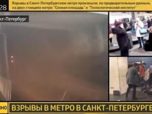 Wzrosła liczba ofiar zamachu w Petersburgu. Media: Ładunek zdetonował zamachowiec samobójca